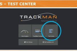 トラックマン、テストセンターの使い方